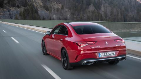 Prueba Mercedes CLA 2019