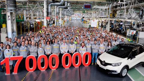 Renault 17 millones, Captur