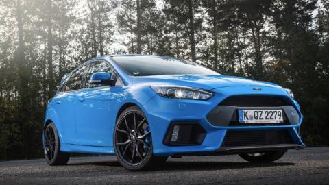 Superdeportivos con motores pequeños, Ford Focus RS