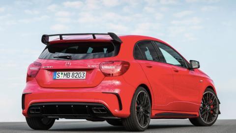 Superdeportivos con motores pequeños, Mercedes A45 AMG