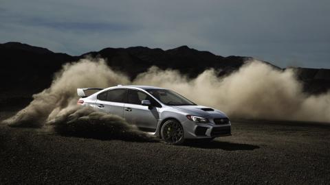 Superdeportivos con motores pequeños, Subaru WRX STi