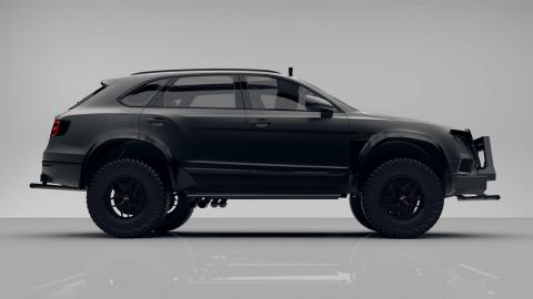 Bentley Bentayga Bengala lateral