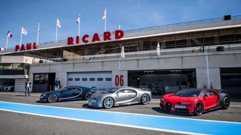 Bugatti Chiron Sport Circuito Paul Ricard