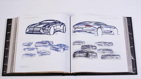 Libro Bentley Centenario interior