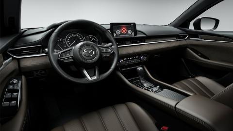 Mazda 6 Wagon interior
