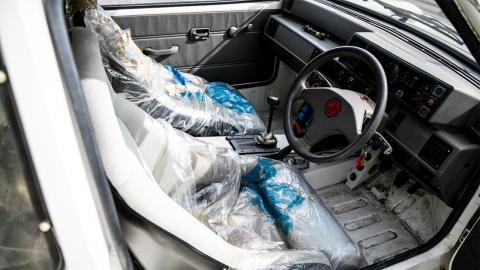 MG Metro 6R4 interior