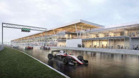 Nuevo paddock GP de Canadá