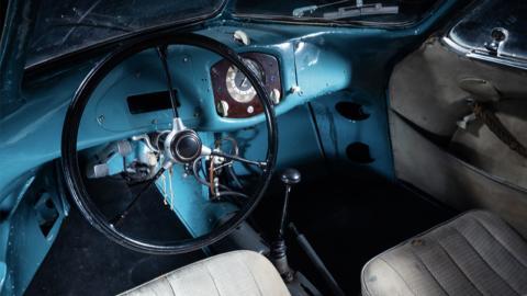 Porsche Type 64 interior