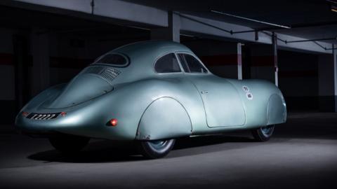 Porsche Type 64 trasera