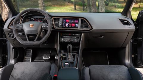 prueba Seat León ST Cupra R