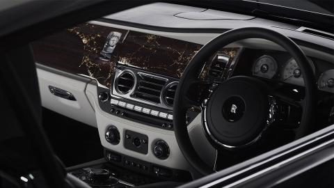 Rolls-Royce Wraith Eagle VIII interior