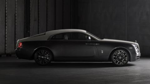 Rolls-Royce Wraith Eagle VIII lateral