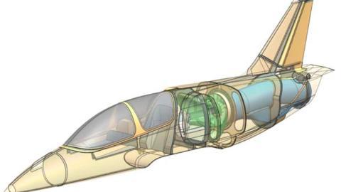 avion motor BMW S1000RR reactor