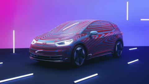 Volkswagen ID.3 tres cuartos delanteros