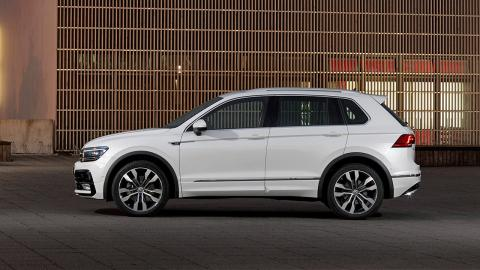 Volkswagen Tiguan lateral