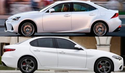 IS giulia premium sedan blanco