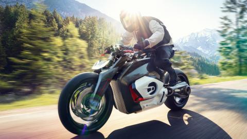 La moto eléctrica de BMW