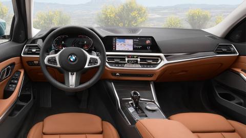 BMW Serie 3 Touring 2019 interior
