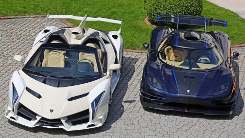 Deportivos confiscados dictador Lamborghini y Koenigsegg