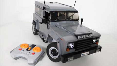 Land Rover Defender de Lego