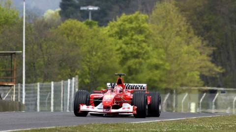Michael Schumacher F2002