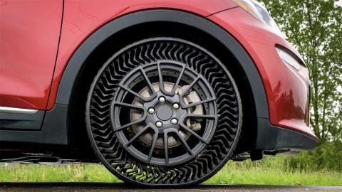 Neumáticos sin aire perfil