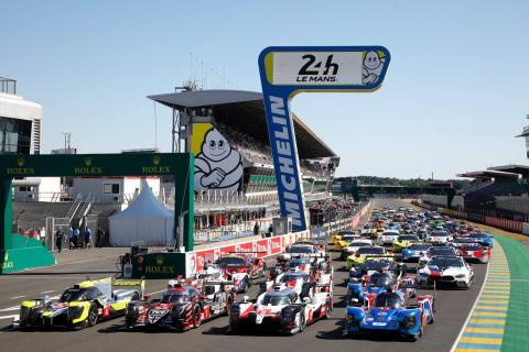 Parrilla 24 Horas de Le Mans
