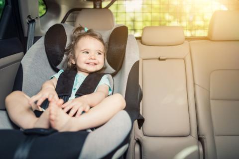 Silla de coche para niños y bebés