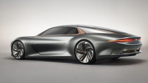 Bentley EXP 100 trasera