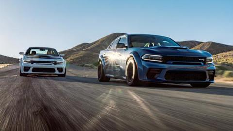 Dodge Charger SRT Hellcat Widebody frontal