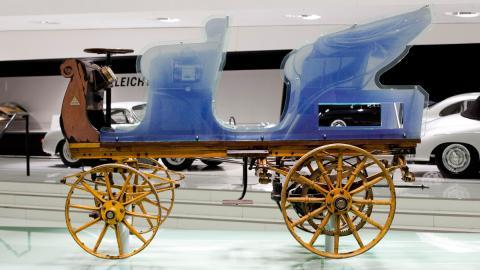 Phaeton coche electrico clasico pionero