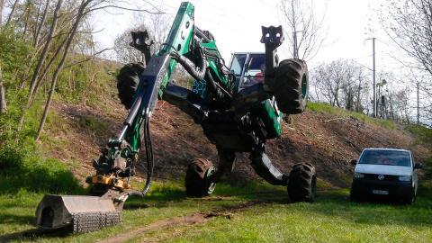 ingenieria trabajo escavadora movimiento tierra