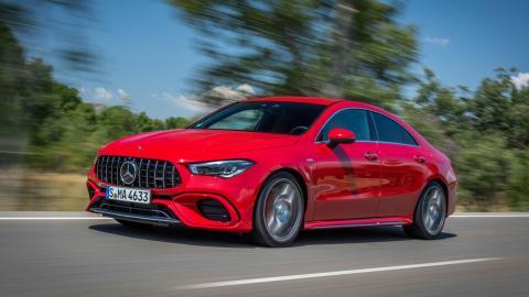 Mercedes-AMG CLA 45 S 2019