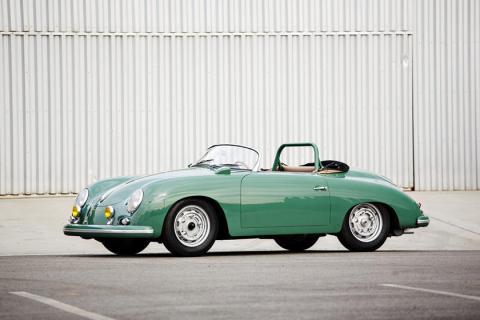 El motor del Porsche Type 547