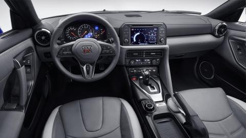 Nissan GT-R 50 Aniversario interior