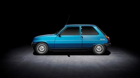 Renault 5 Alpine Turbo lateral