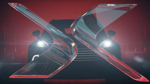 Aston Martin DBX teaser frontal