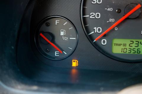 Aviso de gasolina