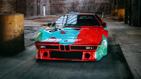 BMW M1 Art Car Andy Warhol