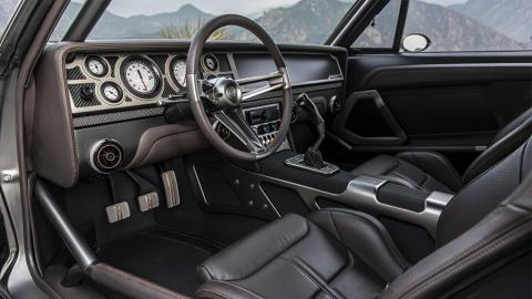 Dodge Charger 1970 interior