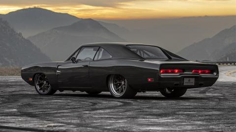 Dodge Charger 1970 trasera