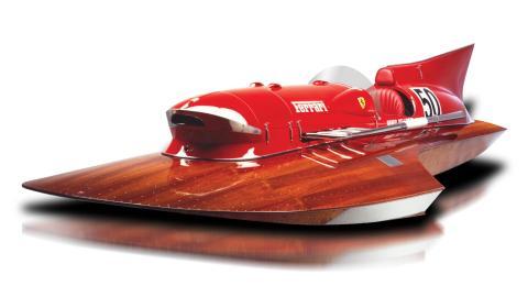 Ferrari speedboat