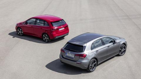 Mercedes A250e y B250e