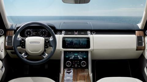 Range Rover P400e interior
