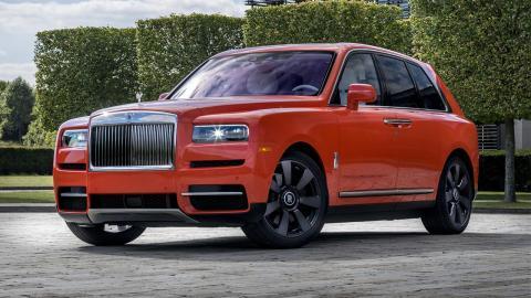 Rolls-Royce Cullinan naranja