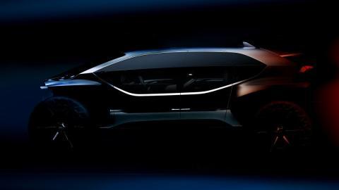 Teaser Audi AI:Trail Concept