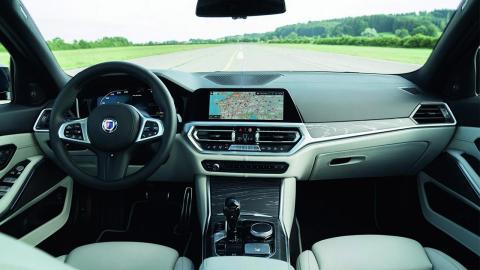Alpina B3 Touring interior