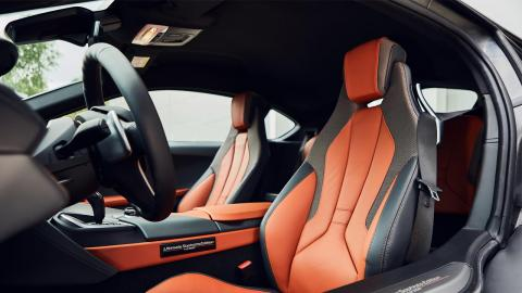 BMW i8 Ultimate Sophisto Edition interior