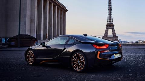 BMW i8 Ultimate Sophisto Edition trasera