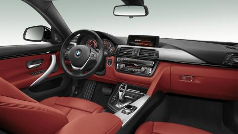 BMW Serie 4 Gran Coupé interior